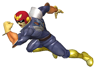 Captain Falcon in action
